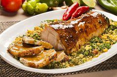 Receitas de Natal - pernil de porco assado