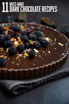 11 Dark Chocolate Recipes Desserts with Dark Chocolate