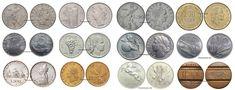 Lire Rare - Scopri il valore delle Monete delle Lire Coins, Vintage, Euro, Chocolates, Italian Lira, Home, Door Bells, Fantasy, Rooms