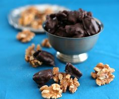 Sugar Free Dark Chocolate Covered Walnuts
