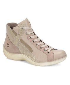 Look what I found on #zulily! Taupe Orbit Leather Hi-Top Sneaker by Bionica by Söfft #zulilyfinds