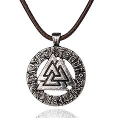 Pagan Odin Amulet Necklace