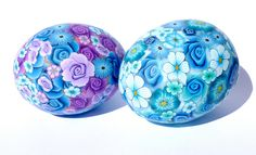 Polymer Clay covered chicken eggs by schapedokter, via Flickr