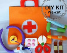 DIY felt cookies and place mats Kit packageK-F20 by fairyfox