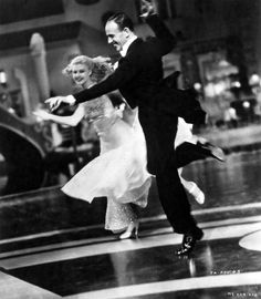 """Remember, Ginger Rogers did everything Fred Astaire did, but she did it backwards and in high heels."""
