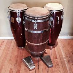 The Drum in the front was apparently made by Arsenio Rodríguez's brother Raul