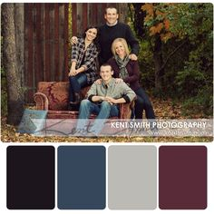 Fall Family Picture Outfits, Family Portrait Outfits, Family Pictures What To Wear, Family Picture Colors, Winter Family Photos, Large Family Photos, Family Pics, Family Posing, Family Portraits