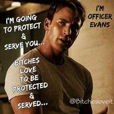#BitchesLoveIt #ChrisEvans