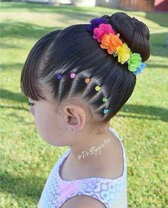 Effortless Side Braid - 30 Elegant French Braid Hairstyles - The Trending Hairstyle Cute Little Girl Hairstyles, Baby Girl Hairstyles, Kids Braided Hairstyles, Hairstyles For School, Kids Hairstyle, Toddler Hairstyles, Childrens Hairstyles, Curly Hair Styles, Natural Hair Styles
