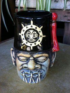 Careless navigator shrunken shriner mug!