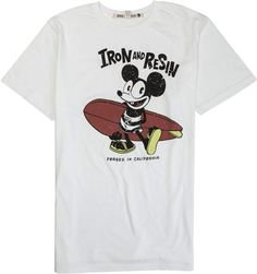 IRON AND RESIN MCRAT SS TEE | Swell.com