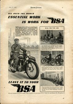 BSA MOTOR CYCLING July 15, 1948.jpg (1645×2321)