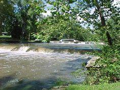Fall Creek in Pendleton, IN