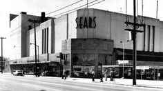 Sears Sears building in downtown Houston, March 1, 1959