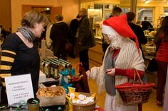 Joulumuori on perinteisesti vieraillut markkinoilla.