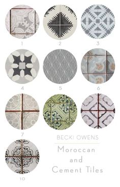 Moroccan and Cement