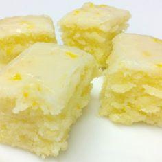 Lemony Lemonies Luscious Lemon Brownies Recipe   Just A Pinch Recipes