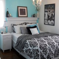 If I had a teenage daughter THIS would be her room! So fabulous!