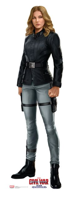 Agent 13 from Captain America Civil War Life-Size Cardboard Standup