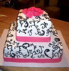Birthday cake for teenage girl