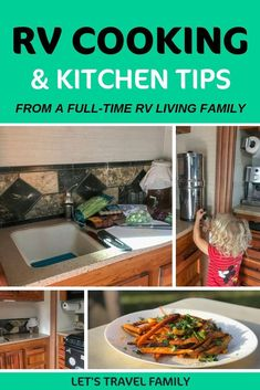 12 Motorhome Cooking and RV Living Tips RV cooking does not have to be hard. Here are our 12 best motorhome cooking tips for making RV cooking easy. We also included 6 easy recipe ideas that even kids can help create in your camper. Rv Camping Recipes, Rv Camping Checklist, Camping Dishes, Camping Car, Camping Meals, Family Camping, Camping Hacks, Camping Cooking, Outdoor Camping