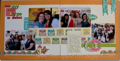 Just my type-scrapbook page from CKC