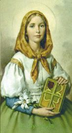 Saint Dymphna, May 15 is her feast day