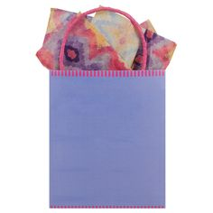 Image for 'Orchid Bloom Kraft Tote    '