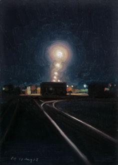 Night Tracks, by Stephen Magsig