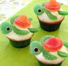 Schildpadden cup cake