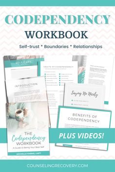 Being a people pleaser can get old after awhile. Codependency recovery is easeor when you have a guide to walk you thorugh and this is a comprehensive workbook to heal codependent patterns and stop sacrificing your needs for others. Topics include self-care, intuition, setting boundaries, control issues, healing resentments and fears, creating healthy relationship behaviors and more! #codependency #recovery #boundaries #selfcare #workbook #codependent #relationships #trust Codependency Recovery, Control Issues, People Pleaser, Setting Boundaries, Low Self Esteem, Best Self, Healthy Relationships, Getting Old, Have Time