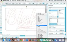 How to Use Baseball Style Fonts in Silhouette Studio (and a Fontbabulous Commercial Font Deal) ~ Silhouette School