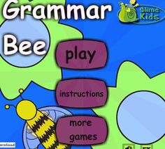 Tons of interactive grammar sites for second and third grade