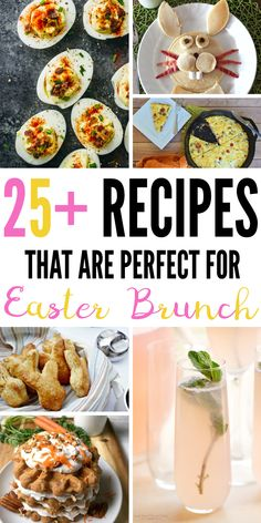 Have an Easter brunch planned? I've been looking for some new food recipes and I finally found them! Look how cute these are! Whether you want a new way to serve pancakes or a twist on deviled eggs, there's an idea here for you!