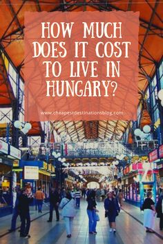 Hungary is not super cheap in every way, but the destination is a good value for people who want to live a good life for less in central Europe. Anyone moving to Budapest from a similarly sized city in Europe, North America, or Australia can easily cut their expenses in half thanks to a low cost of living in Hungary. #cheapestdestinations #cheapdestinationseurope #europe #europetravel #movingabroad #livingabroad #traveltips #expats