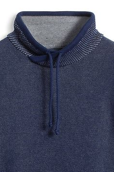 EDC / textured jumper in 100% cotton