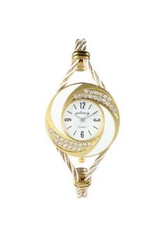 Soleasy New Fashion Women's Bangle Wrist Watch Quartz Gold-White WTH0051 Soleasy $9.99 http://www.amazon.com/dp/B008WADQNS/ref=cm_sw_r_pi_dp_jfCOtb080N2CQQZT  please bookmark me in your web browser at www.webshoppingmasters.com/salter3811