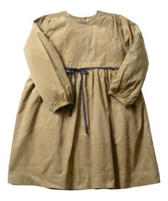 Love this Twig Corduroy Classic Tie Dress - Toddler & Girls by Olive Juice on #zulily! #zulilyfinds