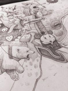 """North pole for sale"" by Antonio Segura Donat, via Behance"