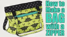 This is my step by step tutorial for how to make a square bottom bag or purse WITH a zipper. Ever since I posted my original bag tutorial, people have been a...