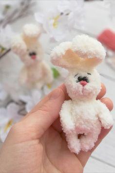 Crochet Toys Patterns, Amigurumi Patterns, Stuffed Toys Patterns, Knitting Patterns, Knitting Toys, Doll Patterns, Easter Bunny Crochet Pattern, Handmade Ideas, Handmade Toys