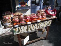 Pistachio capitol of Greece, Aegina Island