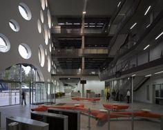 college 07 Contemporary University Design: Ravensbourne College Building in London