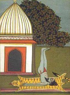 indian miniatures yoga - Bing Images