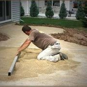 How to Build a Patio on Uneven Ground | eHow