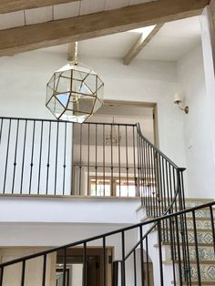 Giannetti Home Malibu Upper Stair Hall