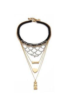 Venessa Arizaga My Finest Hour Statement Necklace