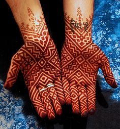 Maroc_mar | My hands... design from an old photo, courtesy o… | Flickr