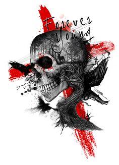 Tattoo sketches 594475219543339183 - Source by Skull Tattoos, Hand Tattoos, Sleeve Tattoos, Chest Tattoo, Back Tattoo, Tatuagem Trash Polka, Trash Polka Art, Tattoo Wien, Cyberpunk Tattoo