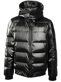@Farfetch...LES HOMMES Hooded Padded Jacket